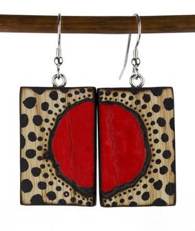 Red Circle Expanding Earrings.jpg