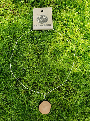 Dogwood Growth Ring Necklace