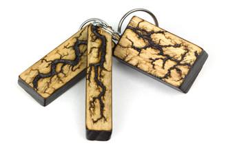Lichtenberg ash keychains 2.jpg