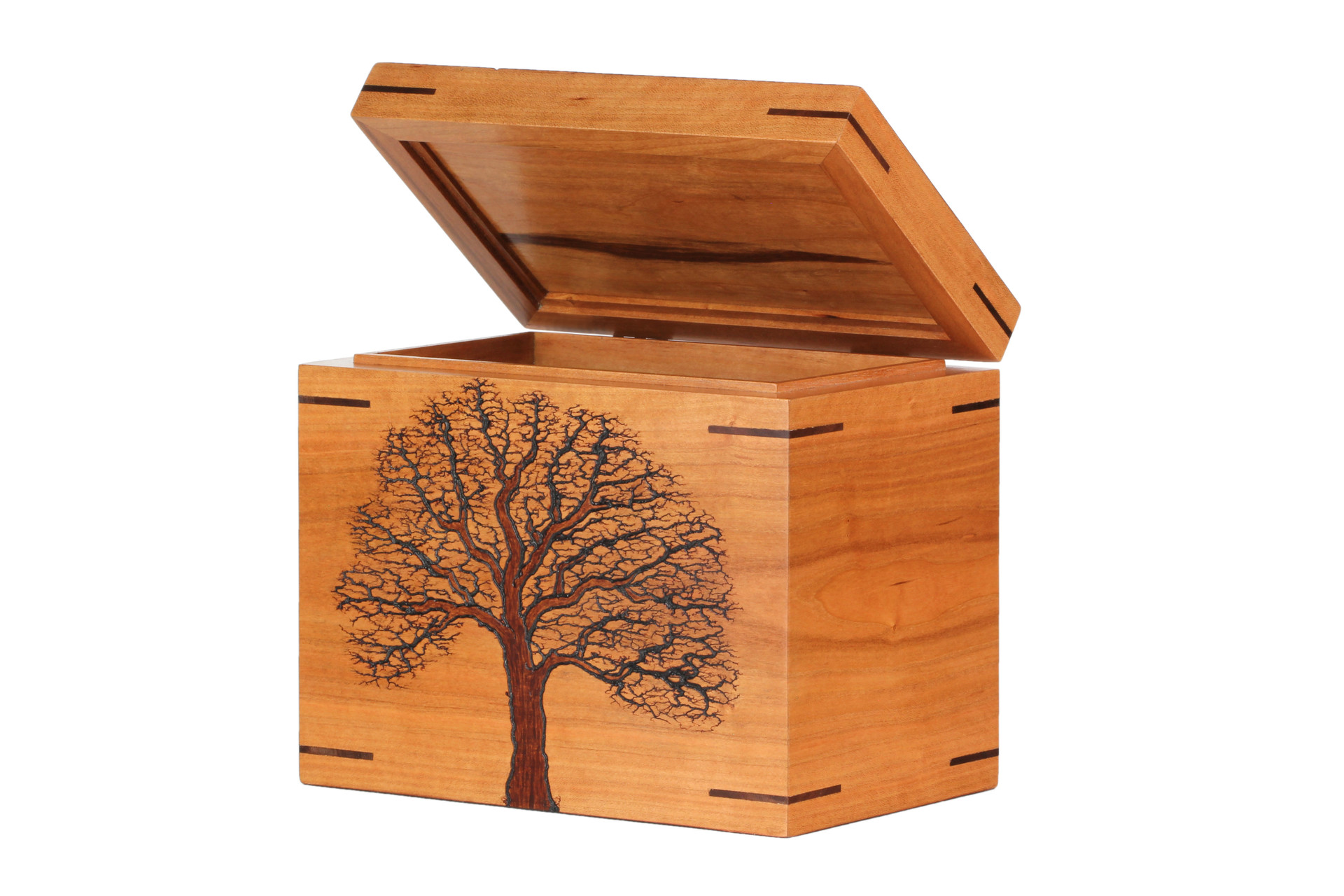 Cremation Box - Open lid
