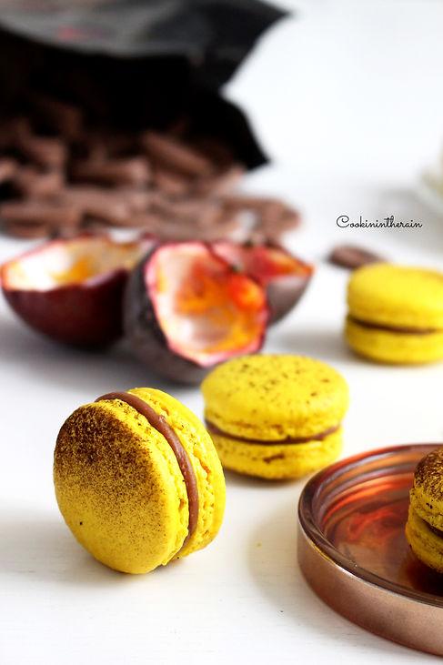 Macarons sur la tranche parfum mogador
