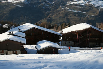 zzLESCOCHES ski home building pic.JPG