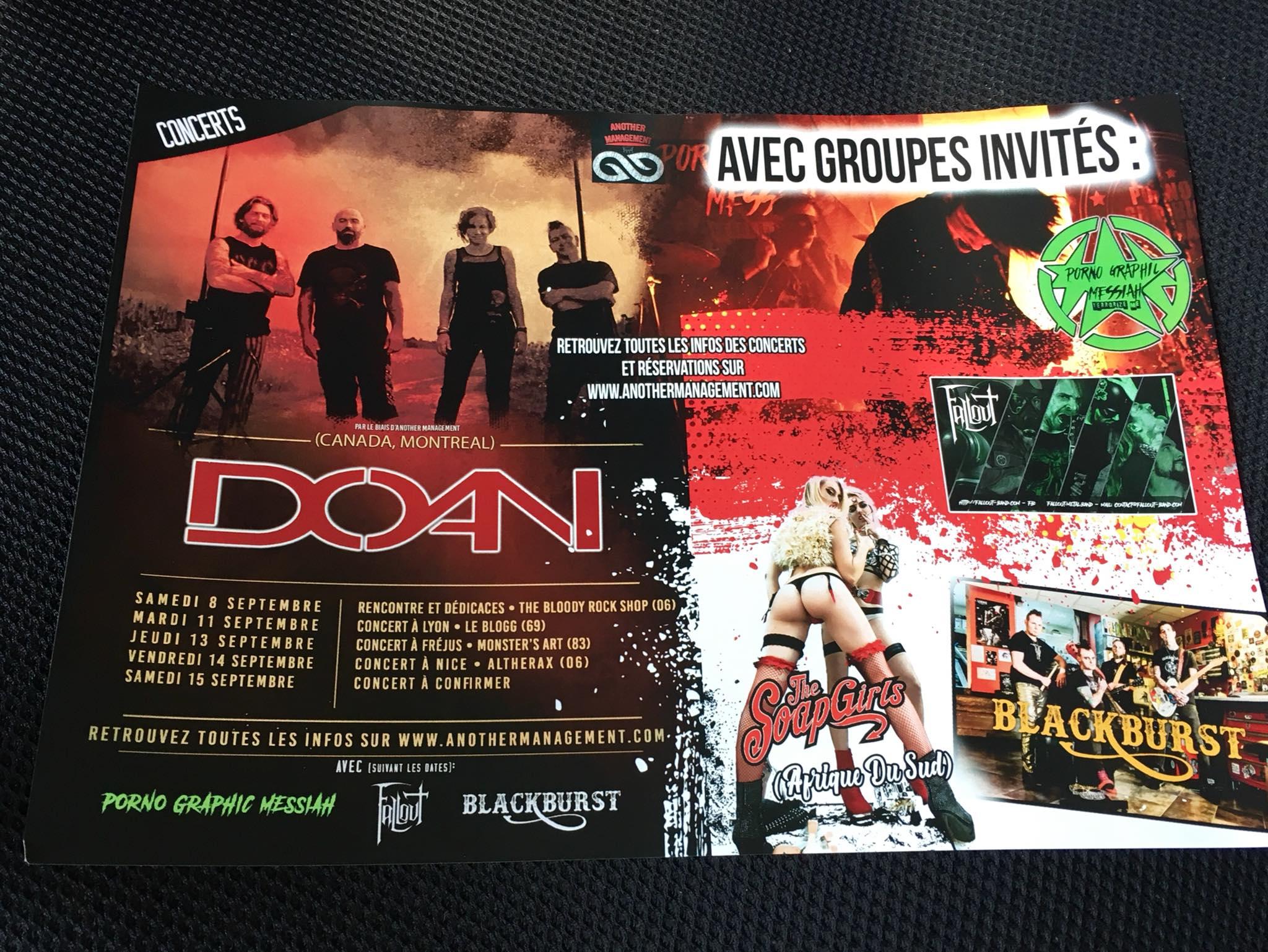 DOAN TOUR