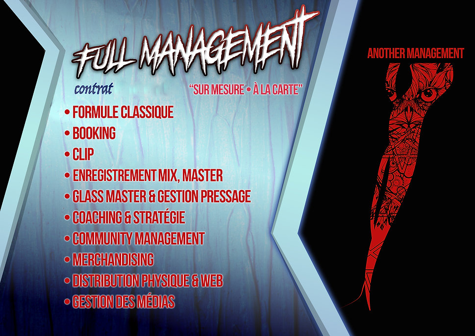 Formule Full Management • Another Manage