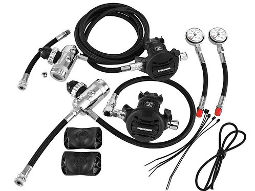 Apeks XTX50 Sidemount Regulator Kit