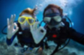 Divers Enjoying A PADI Discoer Scuba Experience