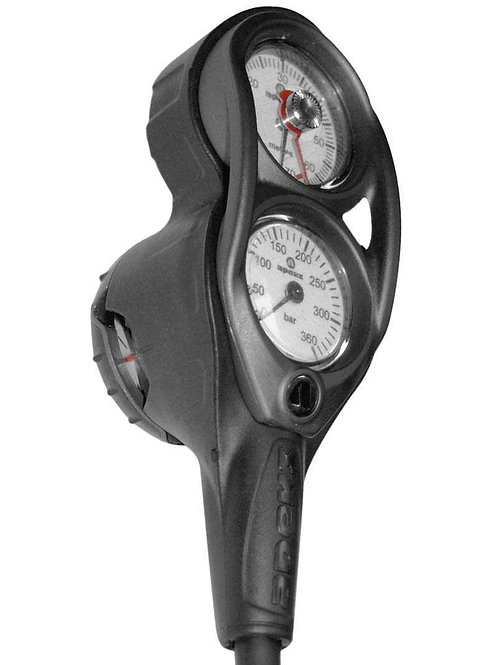 Apeks Depth, Pressure & Compass Gauge