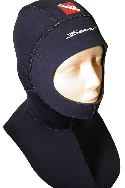 Beaver Pirate 3/5mm Semi Dry Long Yoke Hood