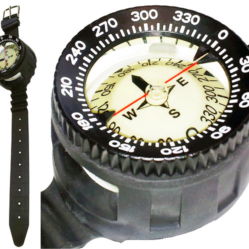 Beaver Trailblazer Wrist Mounted Compass