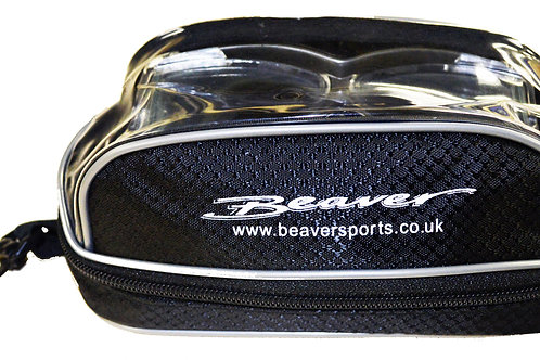 Beaver Zipped Padded Mask Pouch