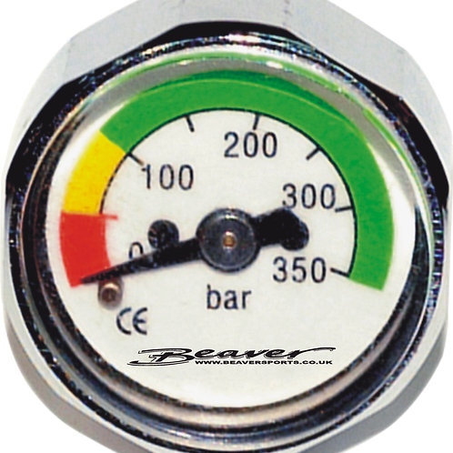 Beaver First Stage Button Pressure Gauge