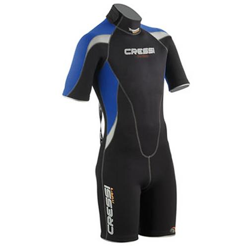 Cressi Med Mens 2.5mm Shorty Wetsuit
