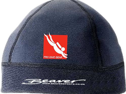 Beaver Superstretch Neoprene Beanie Hat