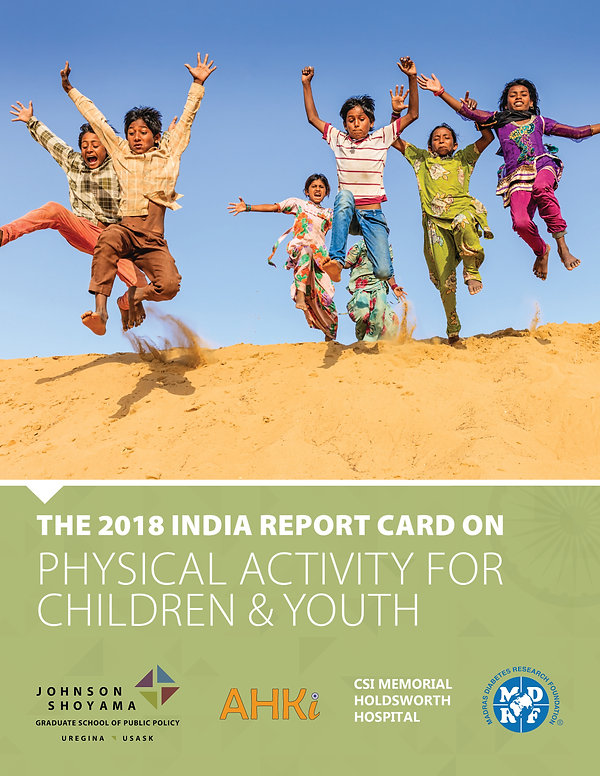 2018 India Report Card on Physical Activity for Children and Youth