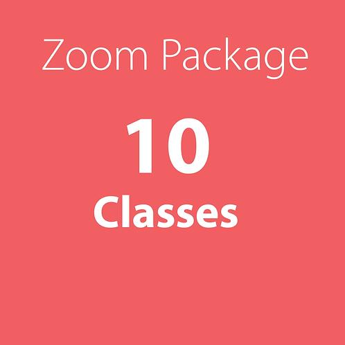 Zoom Package - 10