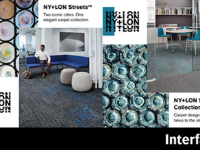 Interface Introduces NY+LON Streets Collection