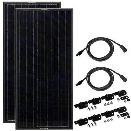 ZAMP Obsidian 200 Watt Solar Panel Kit (2x100)