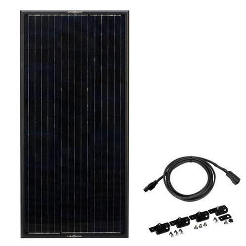 ZAMP Obsidian 100 Watt Solar Panel Kit