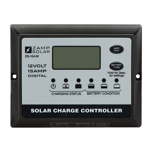 ZAMP 15-Amp 5-Stage PWM Charge Controller