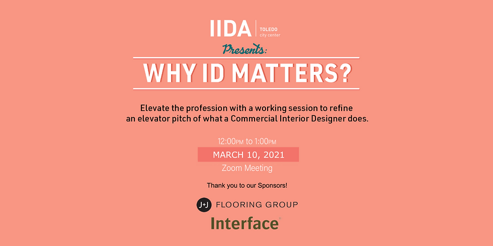 Why ID Matters: A Workshop to Elevate the Interior Design Profession