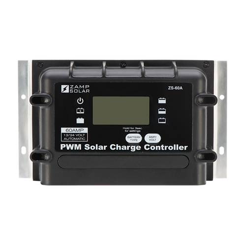 ZAMP 60-Amp 5-Stage PWM Charge Controller