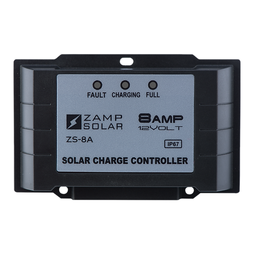 ZAMP 8-Amp 5-Stage PWM Charge Controller