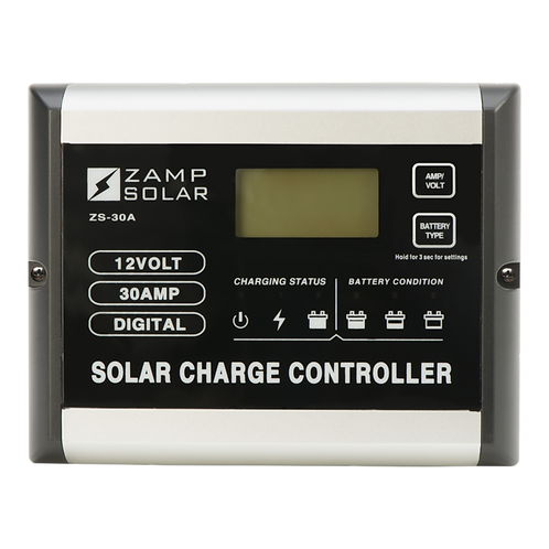 ZAMP 30-Amp 5-Stage PWM Charge Controller