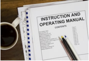 O&Ms, Building Manual, Operating and Maintenance Manuals, Instructions, Handover Documentation