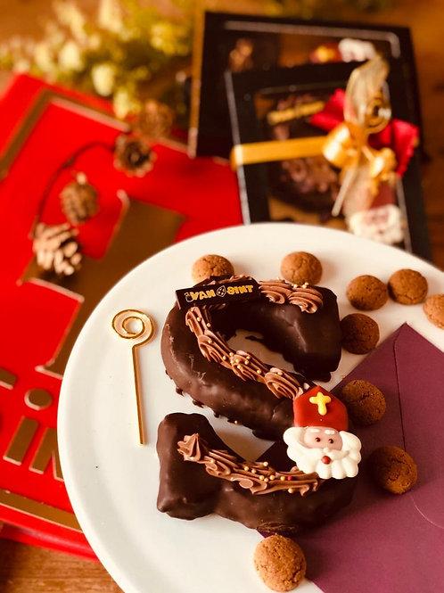 Brownie Sinterklaasletter