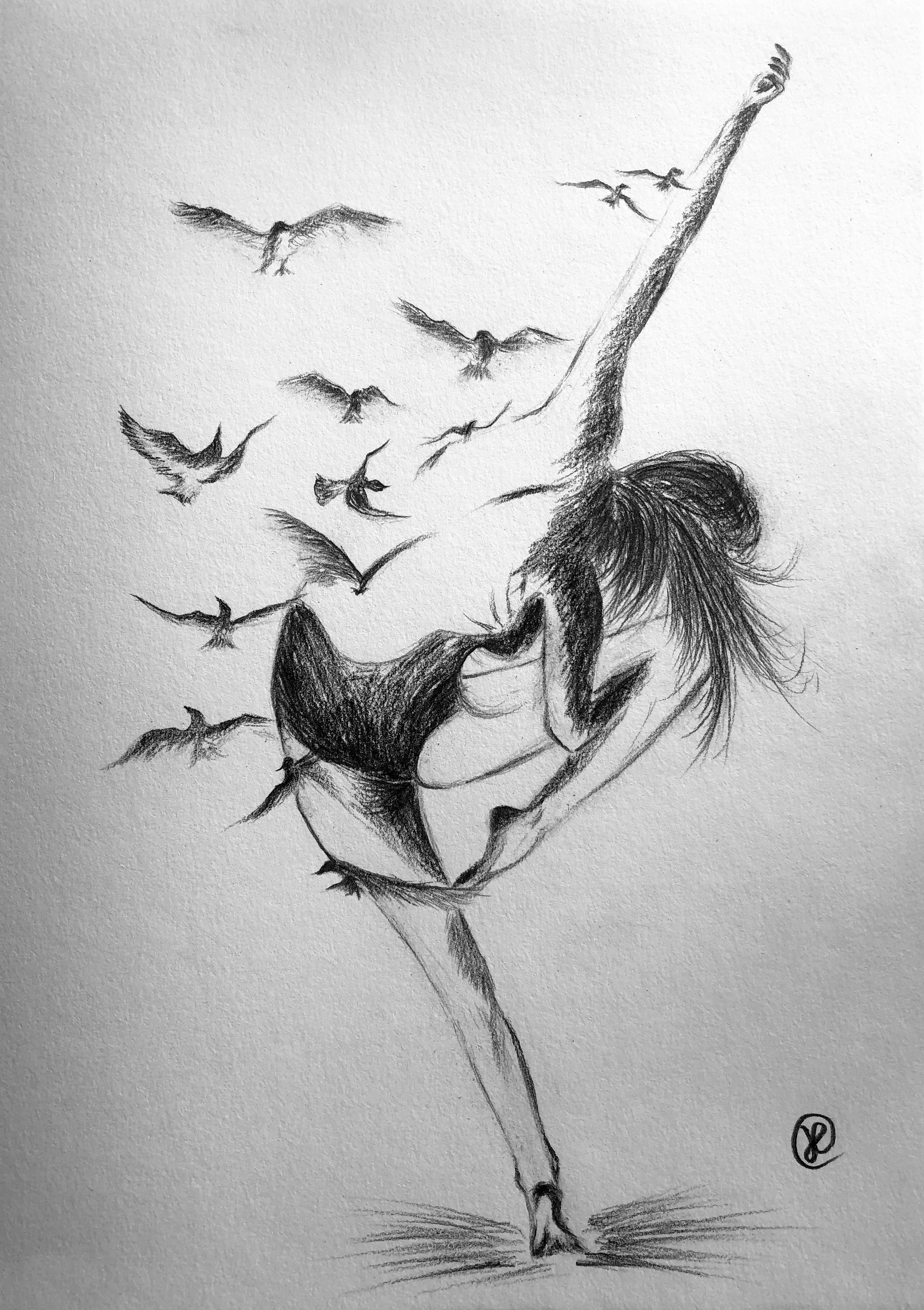 a free dancer