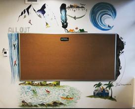 MEC New store wall art