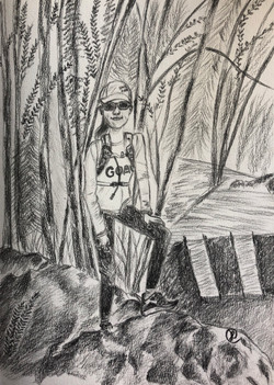 A young hiker 02