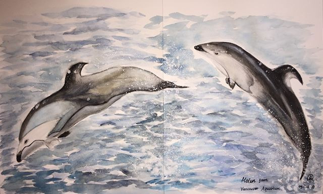 water-colour of _Helen_ from Vancouver a