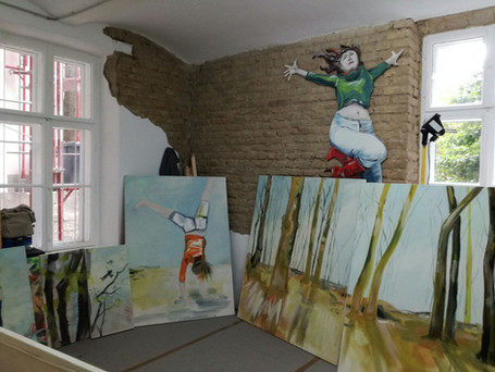 new studio: Hofstattgasse 27, 1180 Wien