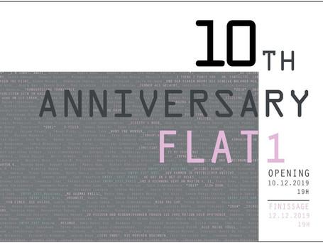 10 Jahre  flat1  Teilnahme an der Gruppenausstellung