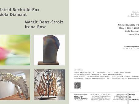 Mela Diamant im Traklhaus, Salzburg: 9.10. - 28.11.2020