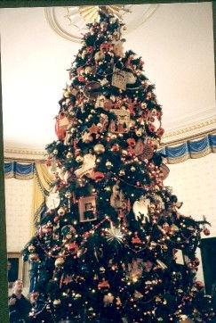 White House Blue Room Tree