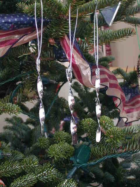 Tin Christmas Tree Icicles