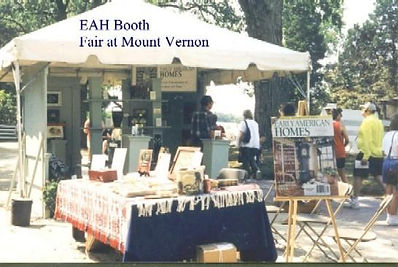 Early American Homes Booth