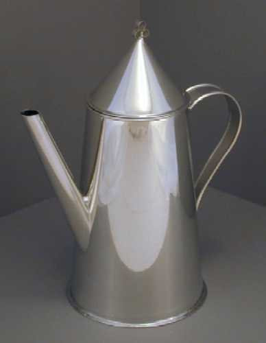 18th C. Coffeepot - Conical