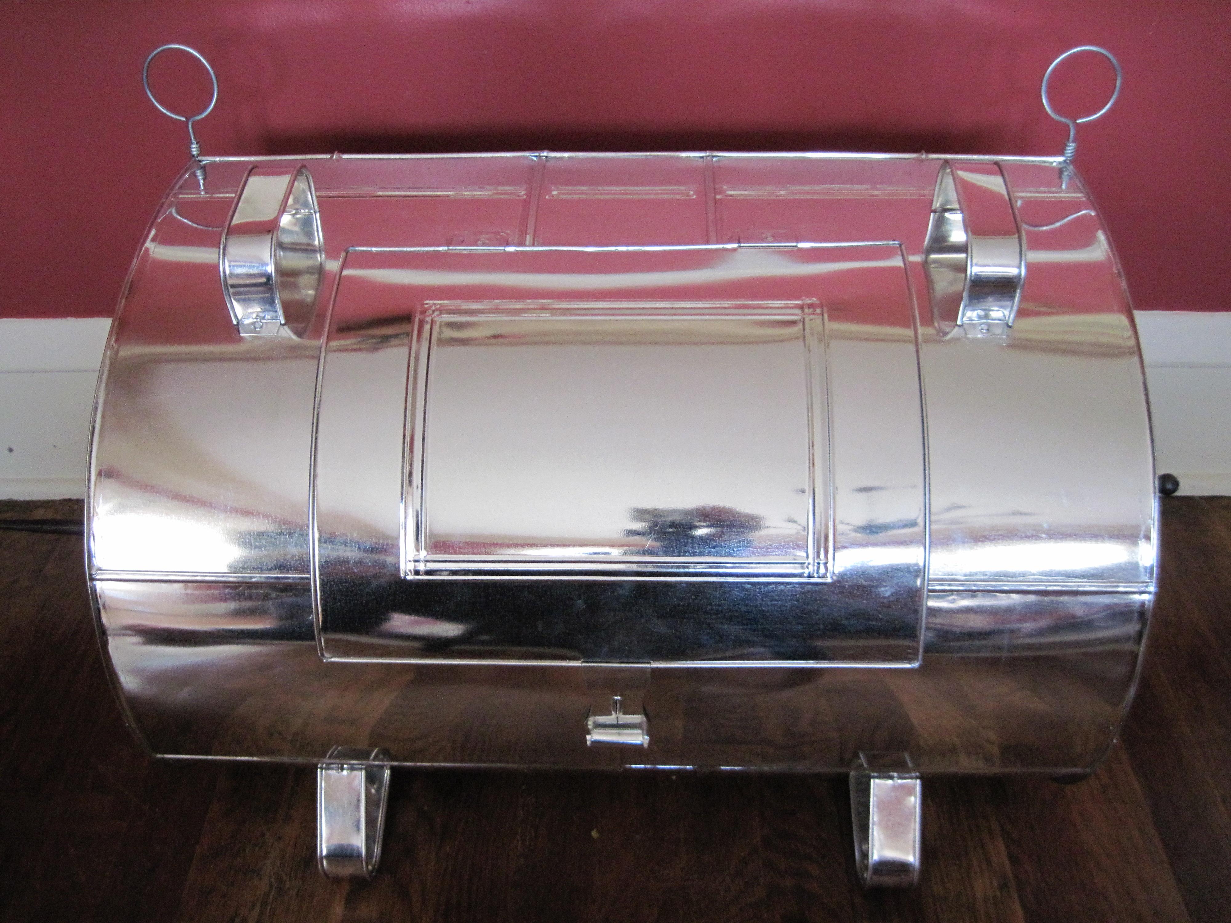 Tin Kitchen - rear door