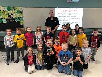 Doug Coates and Botkins Kindergarten 201