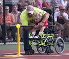 Miracle League player, special needs