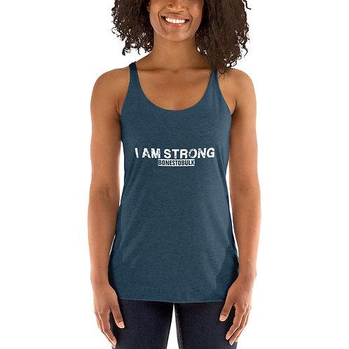 I Am Strong - Women's Racerback Tank