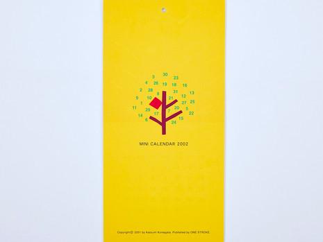 MINI CALENDAR 2002