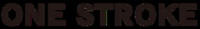 ONE STROKE ロゴ