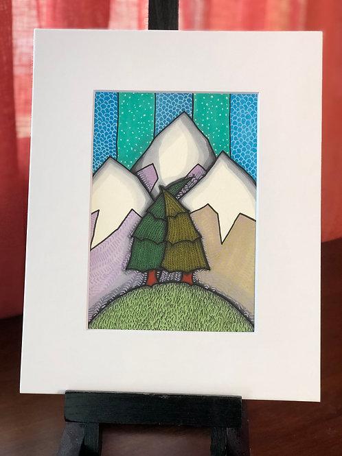 Tree Love Original Art