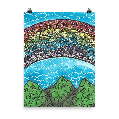 Rainbow Mountains 3 Poster