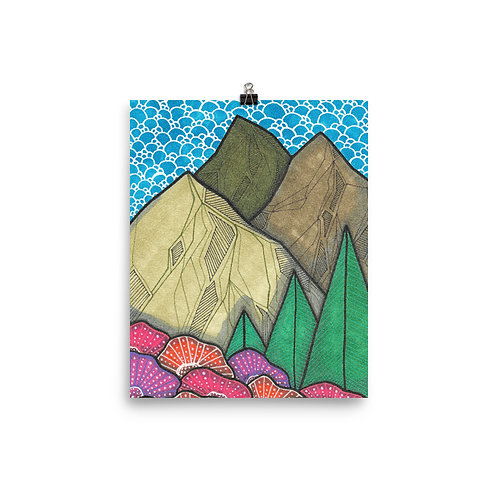 Mountains 3 Poster