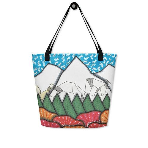 Tote Bag Mountains 12